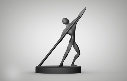 Athletic Statue Printables logo