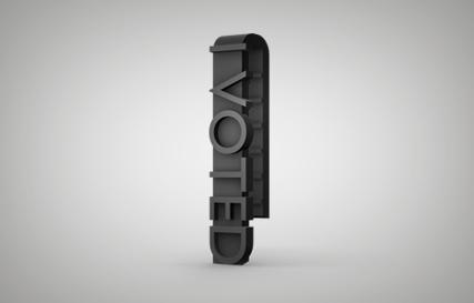 I Voted Clip Printables logo