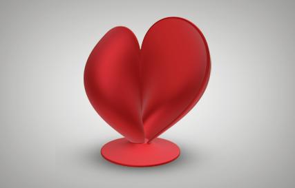 3D Heart Printables logo