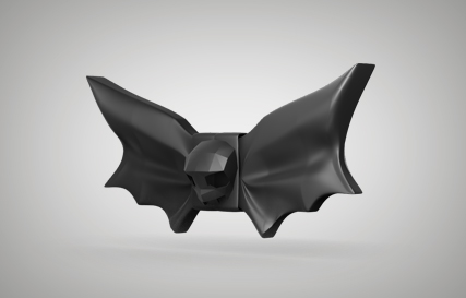 Halloween Bat Bow Tie Printables logo