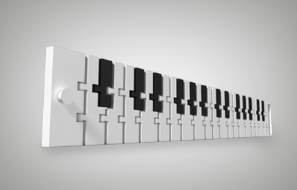 Piano Bracelet Printables logo