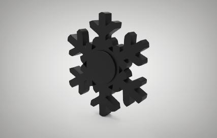 Snowflake Spinner Printables logo
