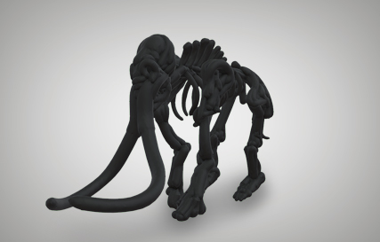 Mammoth Fossil  Printables logo